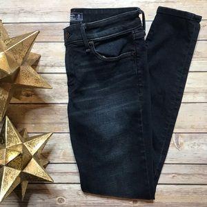 Abercrombie Fitch Harper Super Skinny Dark Jeans